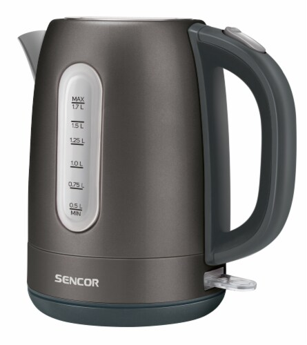 Sencor Stainless Electric Kettle - Black Perspective: front