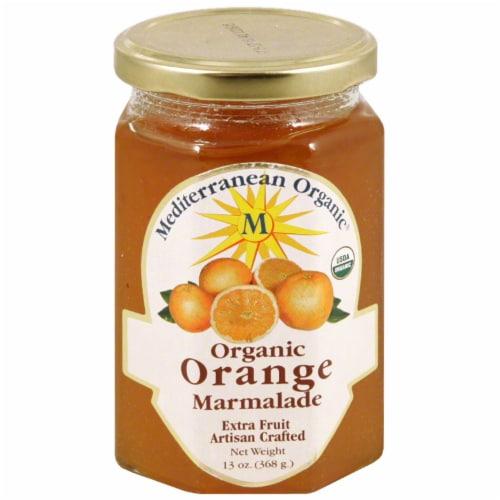Mediterranean Organic Orange Marmalade Perspective: front