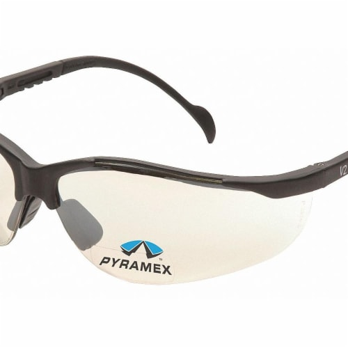 Pyramex Bifocal Sfty Reading Glasses,+2.50,I/O  SB1880R25 Perspective: front