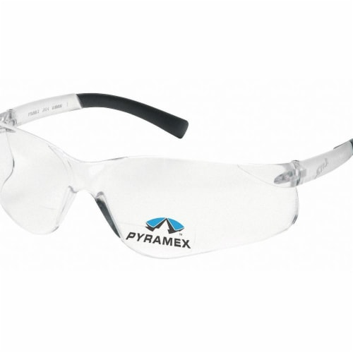 Pyramex Bifocal Safety Read Glasses,+2.00,Clear  S2510R20 Perspective: front