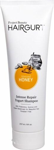 Project Beauty  Hairgurt Yogurt Shampoo Intense Repair Almond Honey Perspective: front