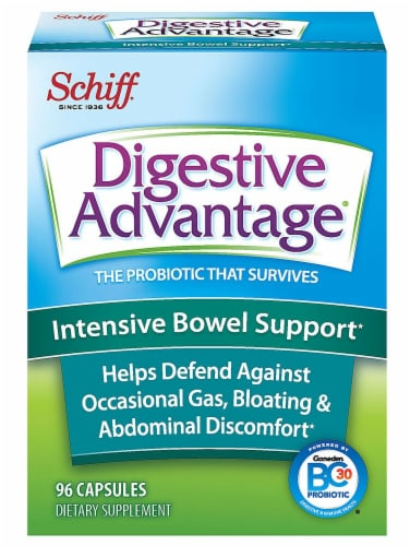 Schiff  Digestive Advantage® Intensive Bowel Support Perspective: front