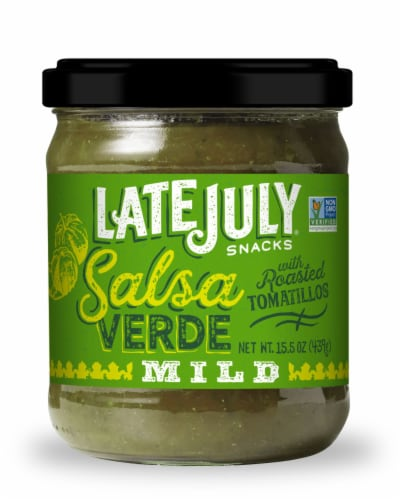 Late July Verde Salsa Perspective: front
