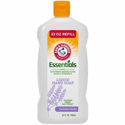 Arm & Hammer Essentials Lavender Vanilla Liquid Hand Soap Refill Perspective: front