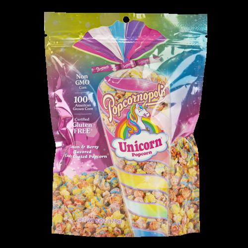 Popcornopolis Unicorn Popcorn Perspective: front