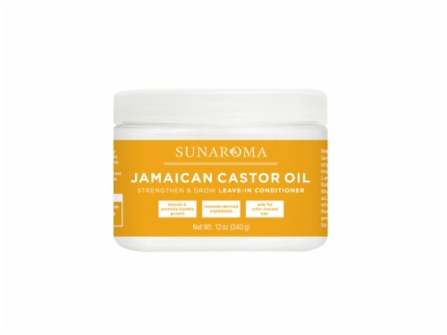 Sunaroma Jamaican Castor Oil Leave-in Conditioner Perspective: front
