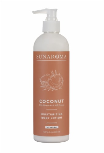 Sunaroma Coconut Moisturizing Body Lotion Perspective: front