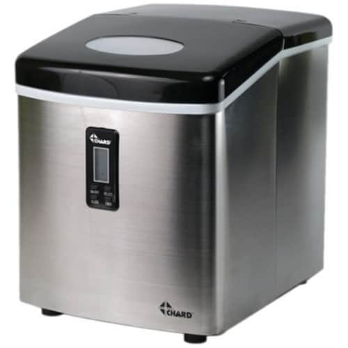 Chard IM-12SS Small Ice Maker Perspective: front