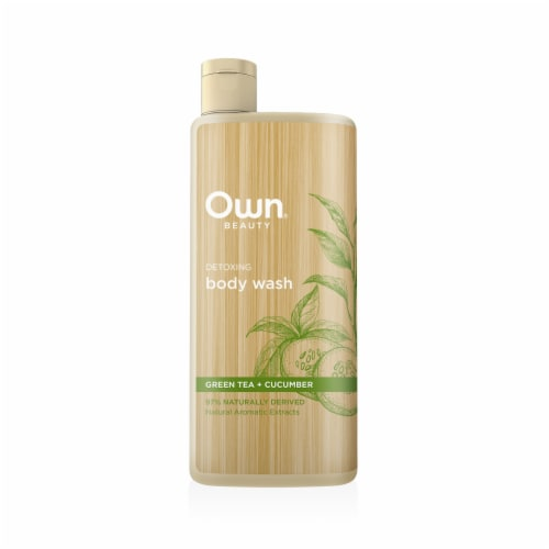 Own Beauty Green Tea Cucumber Body Wash Perspective: front