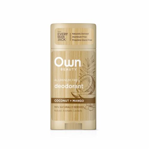 Own Aluminum Free Coconut + Mango Deodorant Perspective: front