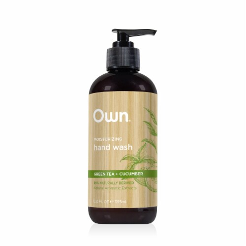 Own Green Tea + Cucumber Moisturizing Hand Wash Perspective: front