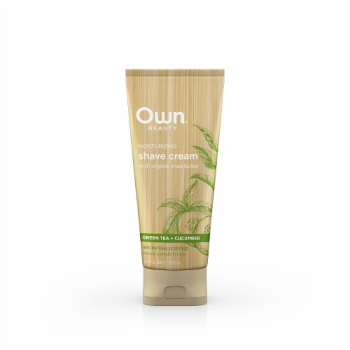 Own Green Tea Cucumber Shave Cream Perspective: front
