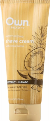 Own Coconut Mango Shave Cream Perspective: front