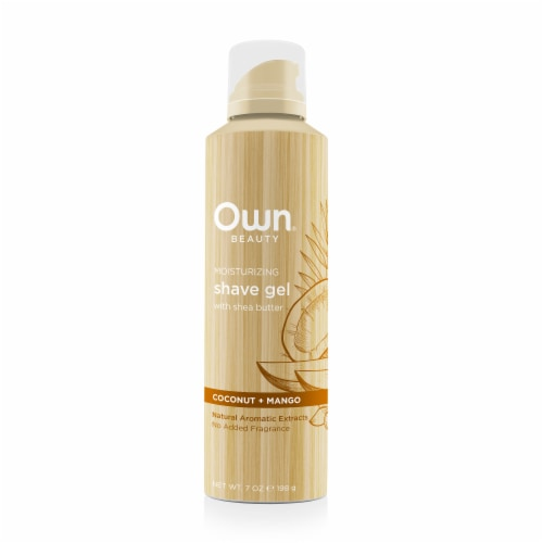 Own Coconut + Mango Moisturizing Shave Gel Perspective: front