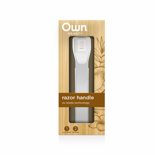 Own Beauty Razor and Cartidge - White Perspective: front