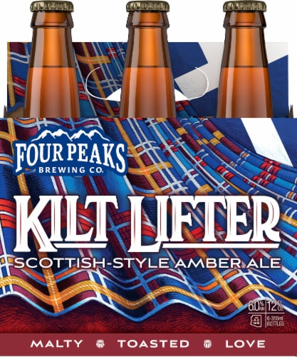 Four Peaks Brewing Kilt Lifter Scottish Style Ale Perspective: front
