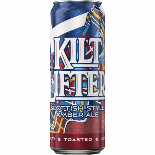 Four Peaks Brewing Kilt Lifter Amber Ale Perspective: front