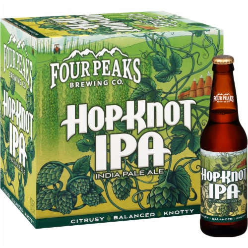 Four Peaks Brewing Hop Knot IPA Perspective: front