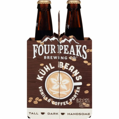 Four Peaks Brewing Vanilla Coffee Porter Perspective: front