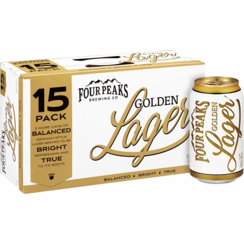 Four Peaks Brewing Golden Lager Perspective: front