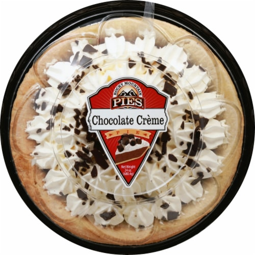 Rocky Mountain Chocolate Creme Pie Perspective: front