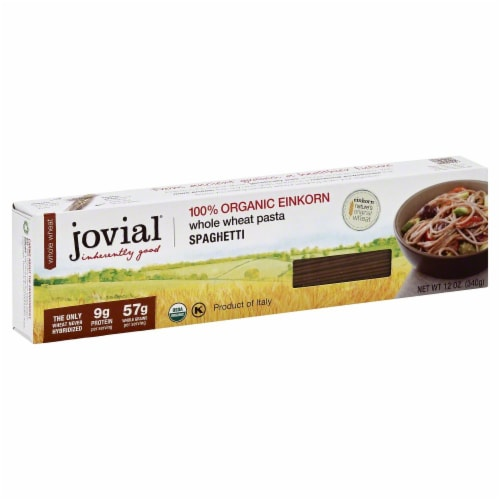 Jovial Organic Einkorn Spaghetti Perspective: front