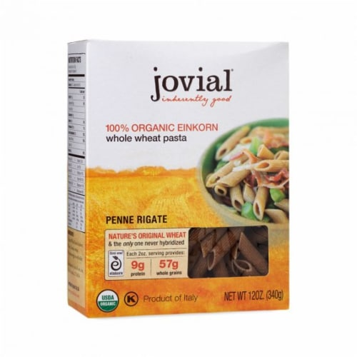 Jovial Penne Rigate Pasta Perspective: front