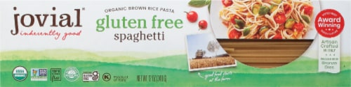 Jovial Organic Brown Rice Spaghetti Perspective: front