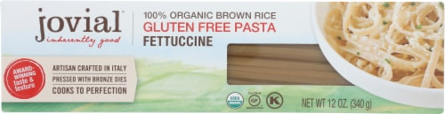 Jovial Organic Brown Rice Fettuccine Perspective: front