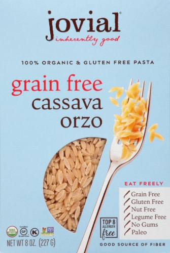 Jovial Organic Cassava Orzo Perspective: front