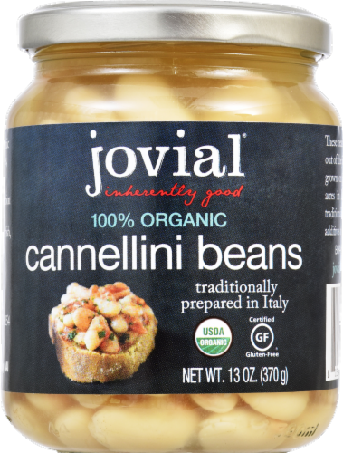 Jovial Organic Cannellini Beans Perspective: front