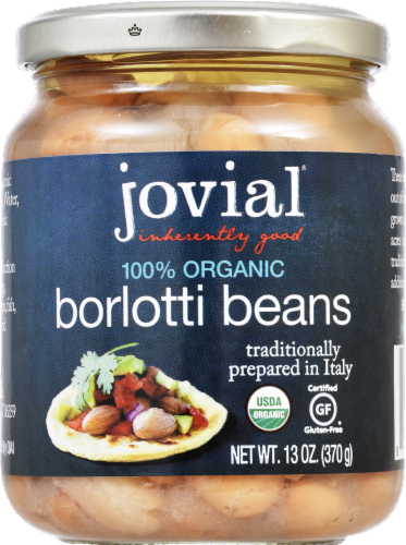Jovial  Organic Borlotti Beans Perspective: front
