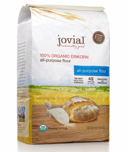 Jovial Einkorn Organic Flour Perspective: front