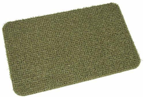 GrassWorx AstroTurf Flair Doormat - Taupe Perspective: front