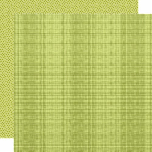 Bella Besties Graph/Dot Double-Sided Cardstock 12 X12 -Pickle Juice Perspective: front