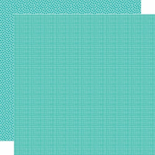Bella Besties Graph/Dot Double-Sided Cardstock 12 X12 -Gulf Perspective: front