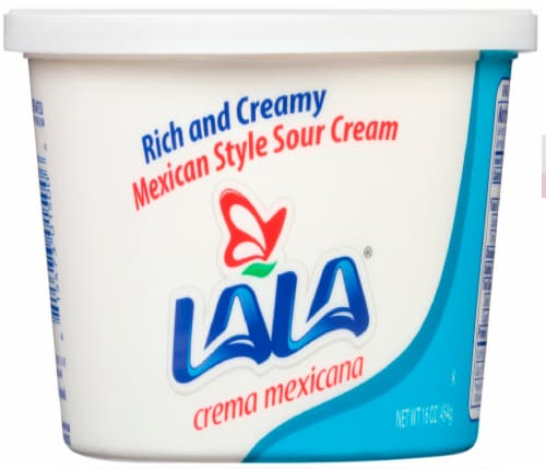 Lala Mexican Style Sour Cream Perspective: front