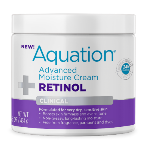 Aquation Retinol Advanced Moisture Cream Perspective: front