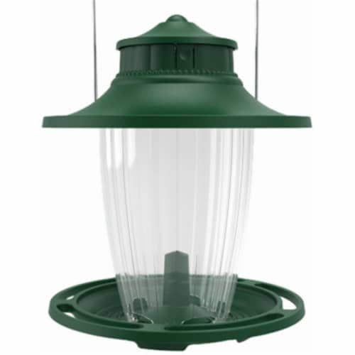 Classic Brands Lantern Bird Feeder - Large  Green Perspective: front
