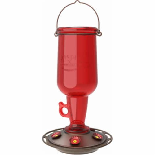 Classic Brands Hummingbird Feeder  Red Jug Perspective: front