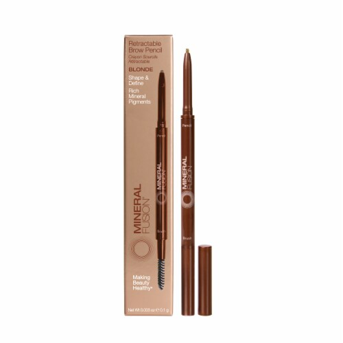 Mineral Fusion Retractable Blonde Brow Pencil Perspective: front