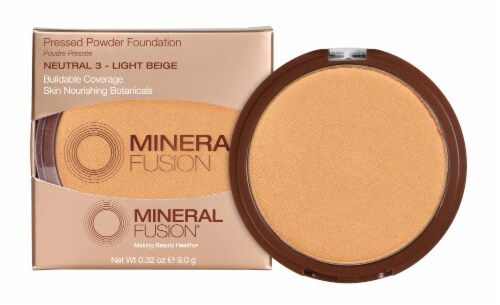 Mineral Fusion Pressed Base 3 Neutral Foundation Perspective: front