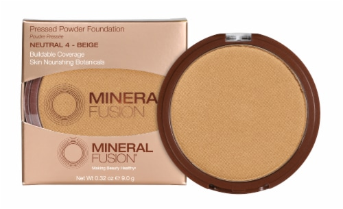 Mineral Fusion Pressed Base 4 Neutral Foundation Perspective: front