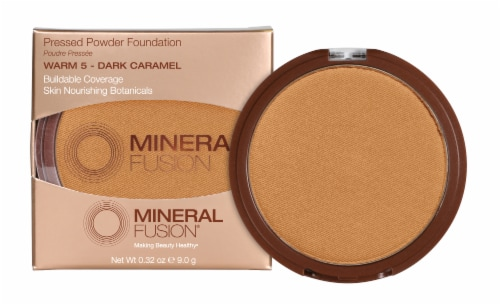 Mineral Fusion Pressed Base 5 Warm Foundation Perspective: front