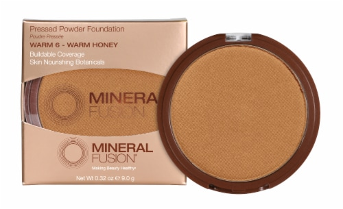 Mineral Fusion Pressed Base 6 Warm Foundation Perspective: front