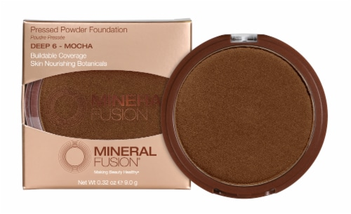 Mineral Fusion Pressed Base 6 Deep Foundation Perspective: front