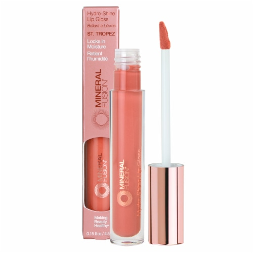 Mineral Fusion Hydro-Shine St. Tropez Lip Gloss Perspective: front