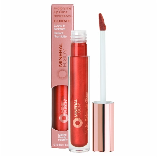 Mineral Fusion Hydro-Shine Florence Lip Gloss Perspective: front