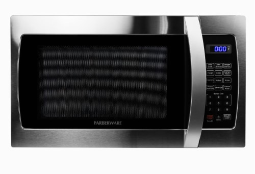 Farberware Professional 1000-Watt Microwave Oven - Stainless Steel Perspective: front