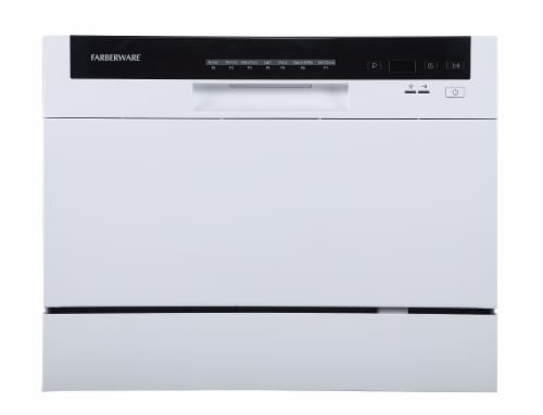 Farberware Professional Countertop Dishwasher - White Perspective: front